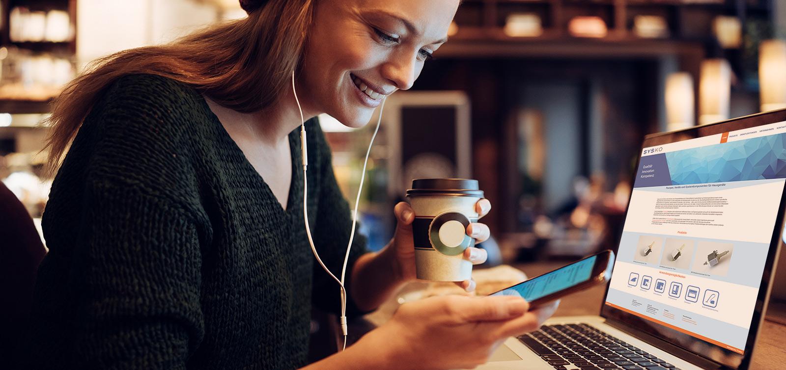 content-referenzen-details-sysko-laptop-kaffee-desktop